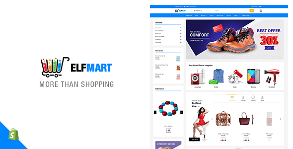ThemeForest Elfmart Multipurpose Shopify Theme 21152506