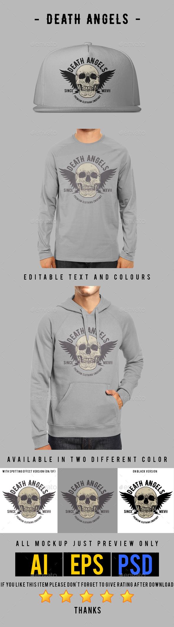 Death Angels T-shirt Design - Designs T-Shirts