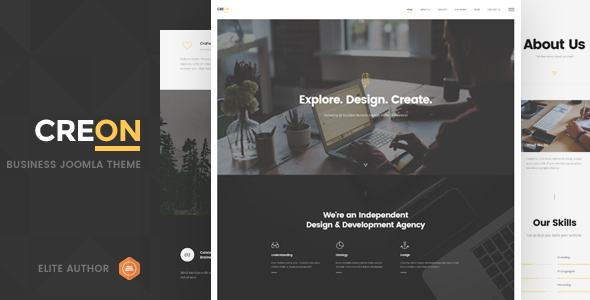 Image of Creon - Business Joomla Template
