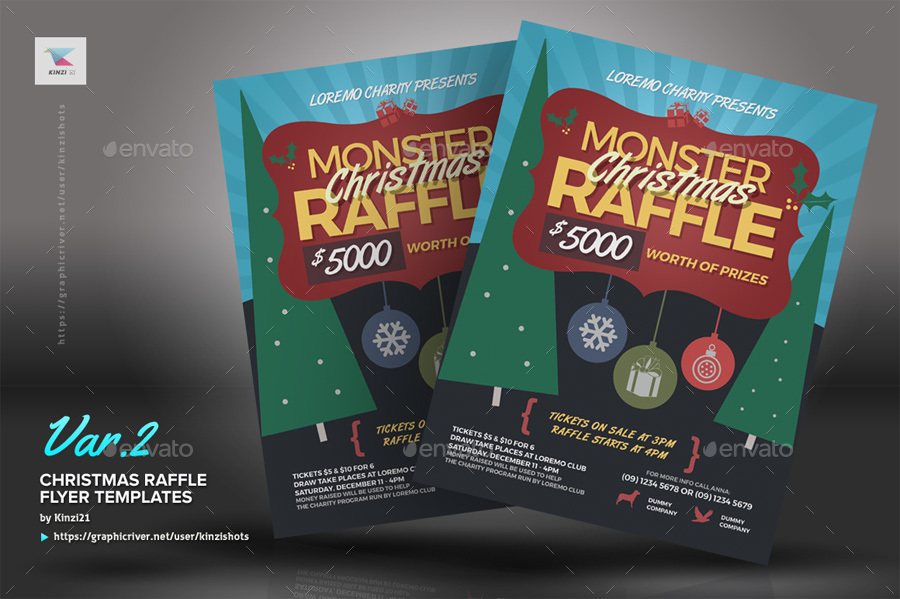 Raffle Flyers Templates  BesikEightyCo