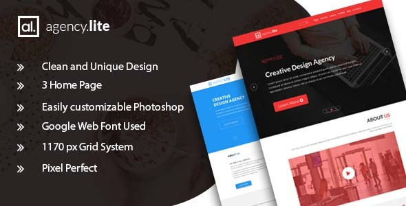 Agency Lite - Agency and Business Template