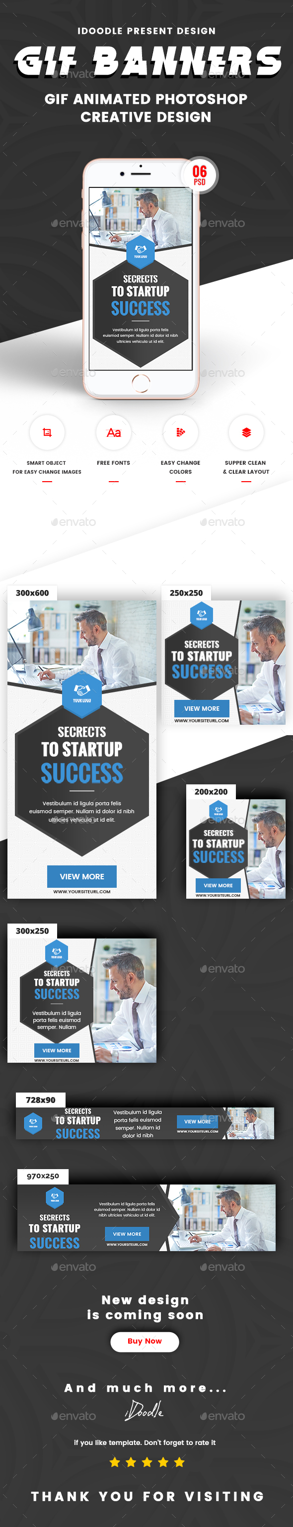 GraphicRiver Animated GIF Multipurpose Business Corporate Banners Ad 21152641