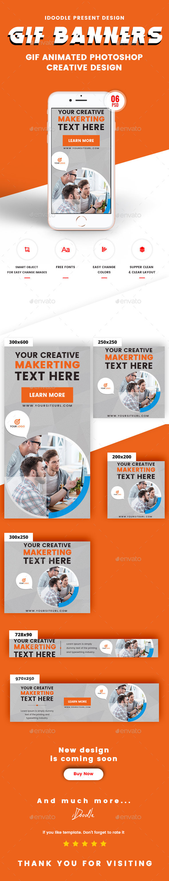 GraphicRiver Animate GIF Multipurpose Banners Ads 21152704