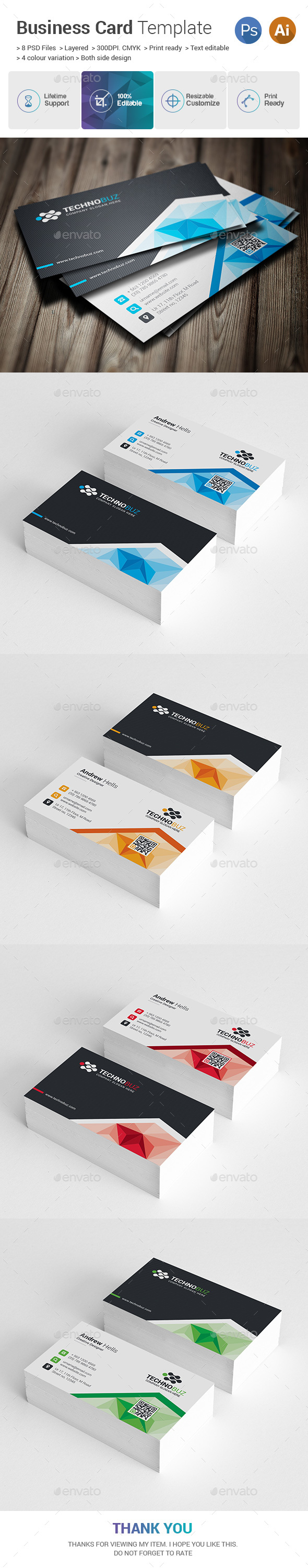 Creative Business Cards - Business Cards Print Templates