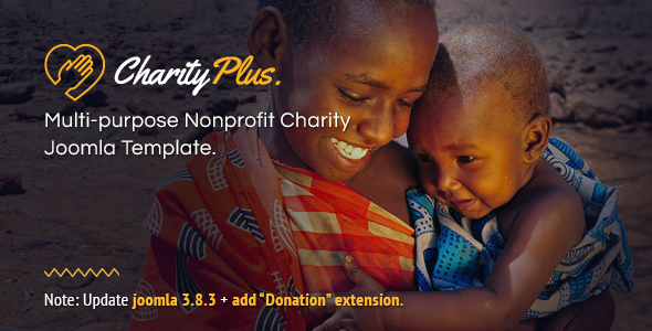 Image of CharityPlus - Multipurpose Nonprofit Charity Joomla Template