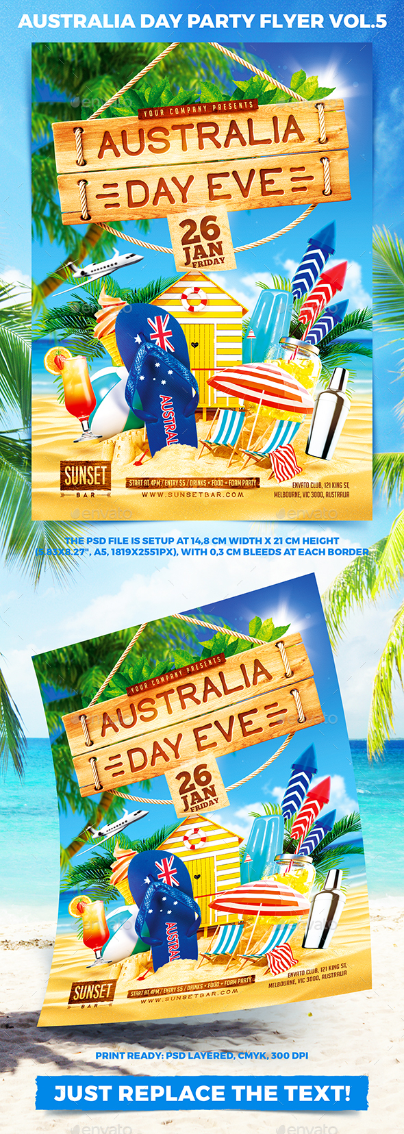 GraphicRiver Australia Day Party Flyer vol.5 21152778