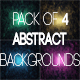 Abstract Cinematic Glass Backgrounds - VideoHive Item for Sale