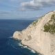 Aerial Footage Shipwreck Bay Navagio Beach, Zakynthos - VideoHive Item for Sale
