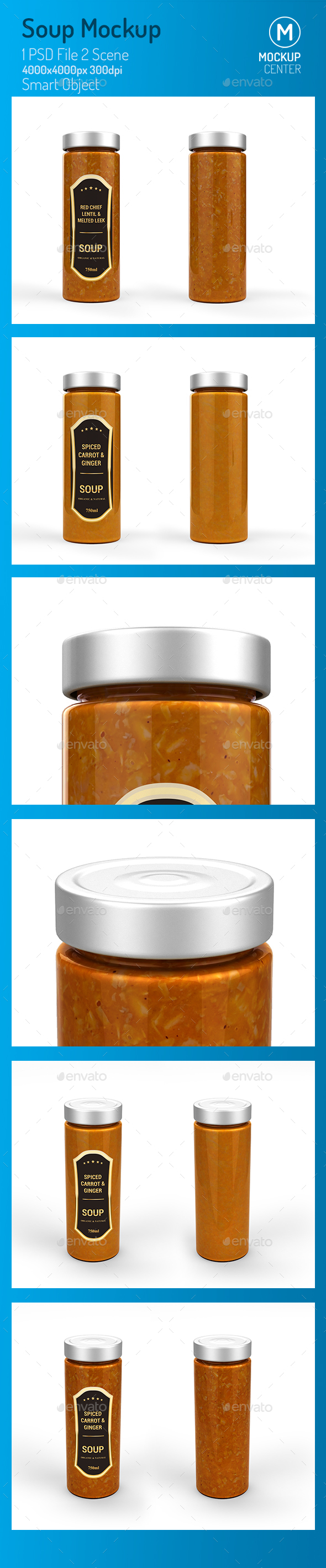 GraphicRiver Soup Jar Mockup 21153082