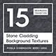 15 Stone Cladding Textures