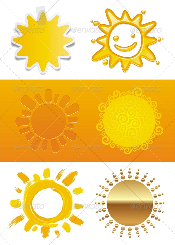 Set of a Sun - Nature Conceptual