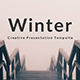 Winter Minimal Keynote Template