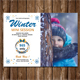 Winter Mini Session Template V06 - GraphicRiver Item for Sale