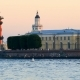 People Stroll Along Embankment of Arrows of Vasilievsky Island, Saint-Petersburg - VideoHive Item for Sale