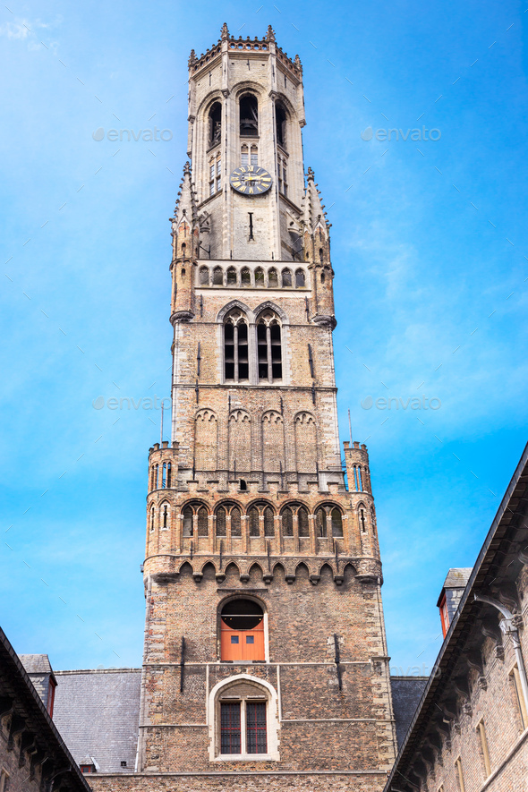 Belfort in Bruges - Stock Photo - Images