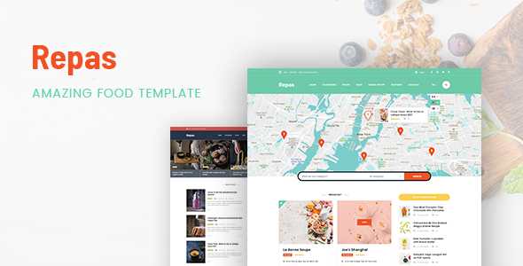 ThemeForest Restaurant and Food Recipes Directory 21153427