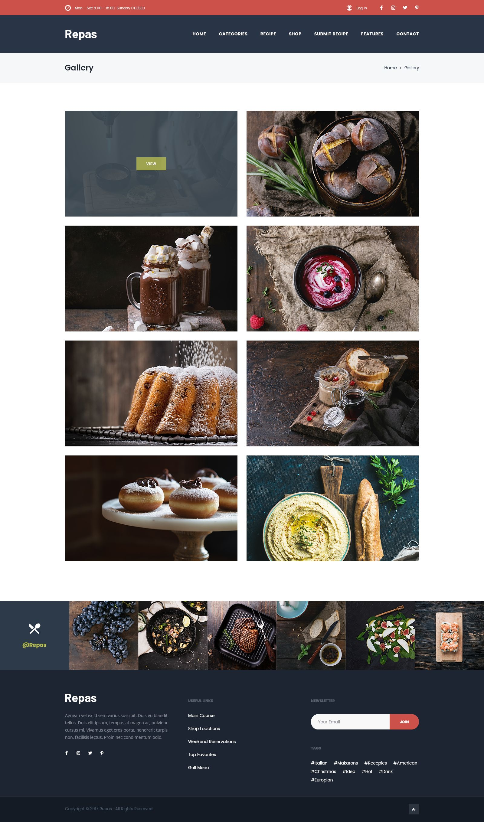 Restaurant And Food Recipes Directory By Listingthemes Themeforest