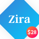 Zira - Modern Looking Blogging Theme