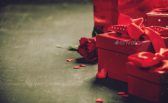 Valentine's Day concept. - Stock Photo - Images