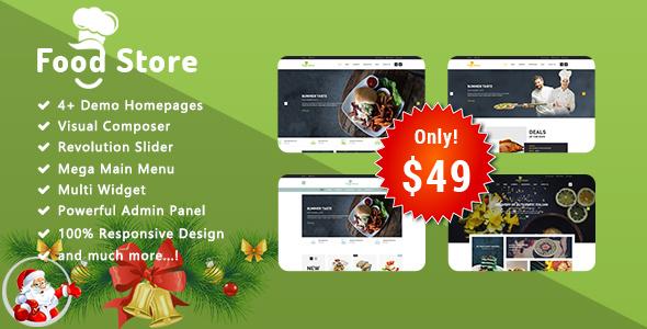 Food Store - Responsive WooCommerce WordPress Theme