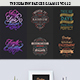 Typography Badges & Labels Vol.12 - GraphicRiver Item for Sale
