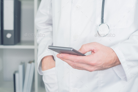 Modern technology in healthcare and medicine - Stock Photo - Images