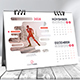 Creative Desk Calendar 2018 - GraphicRiver Item for Sale