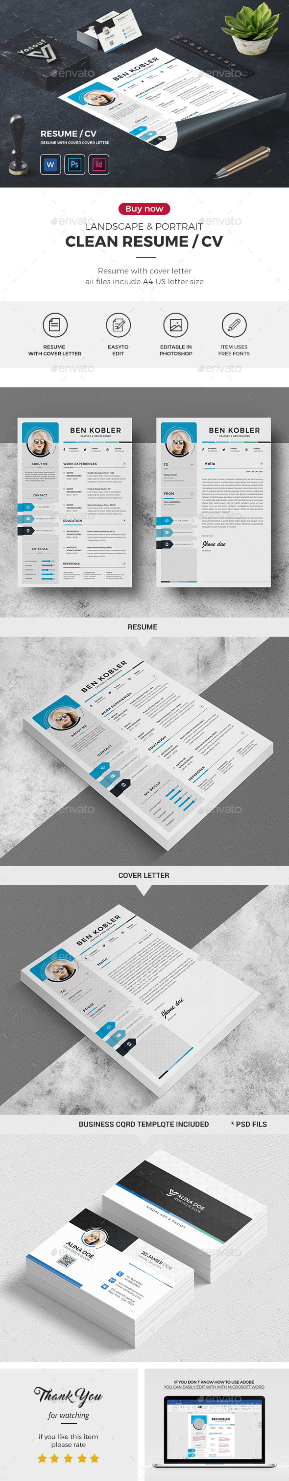 GraphicRiver CV 21153903