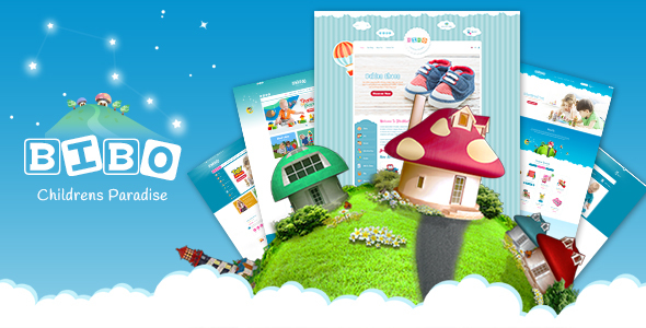 Image of BiboMart -  Baby & Kids Store Prestashop 1.7 Theme