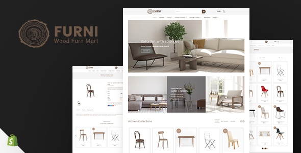 Furni - Furniture, Bathroom Fittings Shopify Theme