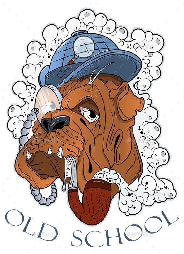 Dog Detective - Animals Characters