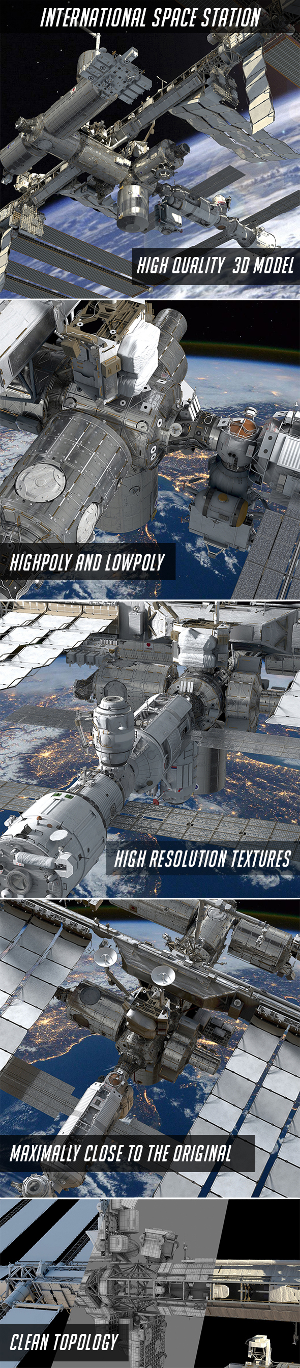 3DOcean International Space Station 21149398