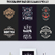 Typography Badges And Labels Vol.13 - GraphicRiver Item for Sale