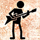 Stickman Playing Guitar Animation Pack - VideoHive Item for Sale