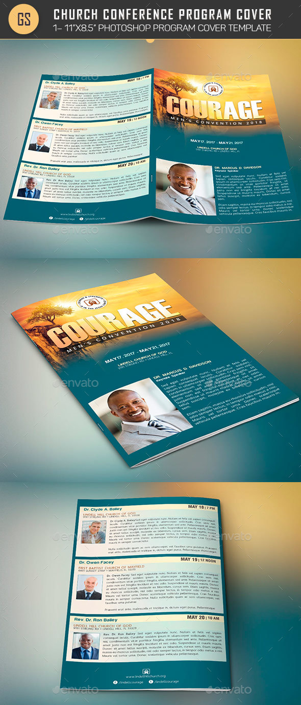conference brochure templates - program templates for women conference