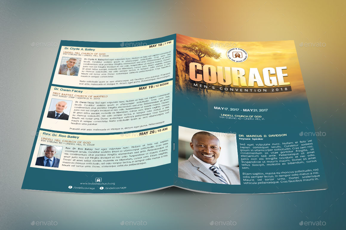 church conference program cover template by godserv graphicriver