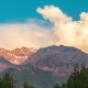 Sunset Sky High Above the Mountains in Sairamsu, Kazakhstan - VideoHive Item for Sale