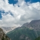 of Clouds Above the Mountains in Sairamsu, Kazakhstan - VideoHive Item for Sale