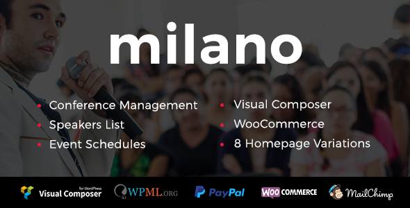 Event/Conference Milano | Event/Conference WordPress - Events Entertainment