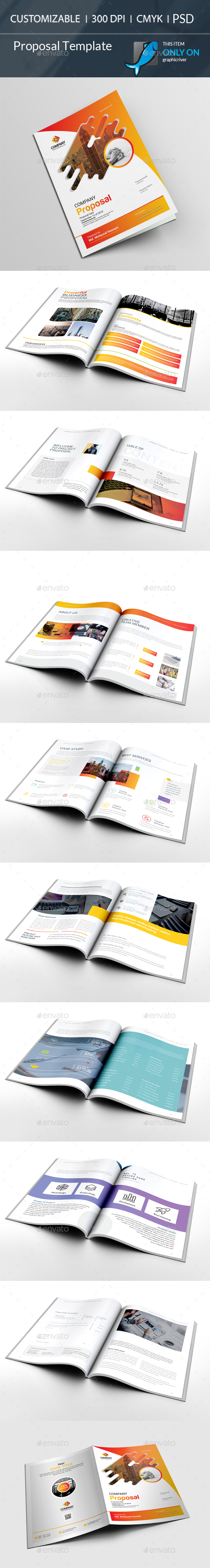 GraphicRiver Proposal Template 21154661