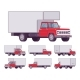 Red Truck Set