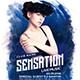Sensation Party Flyer