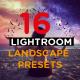 16 Lightroom Landscape Presets