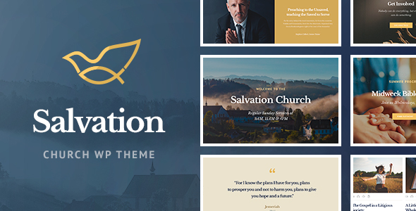 Salvation - Church & Religion WP Theme - Churches Nonprofit