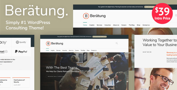 Beratung - Multi-Purpose Business & Consulting WordPress Theme
