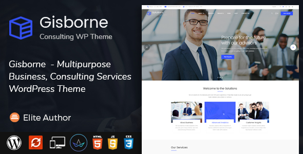 Download Gisborne - Business, Finance and Consulting WordPress Theme            nulled nulled version