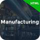 Manufacturing - Factory & Industrial Business HTML Template - ThemeForest Item for Sale