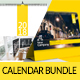 Calendar 2018 V1 Bundle - GraphicRiver Item for Sale