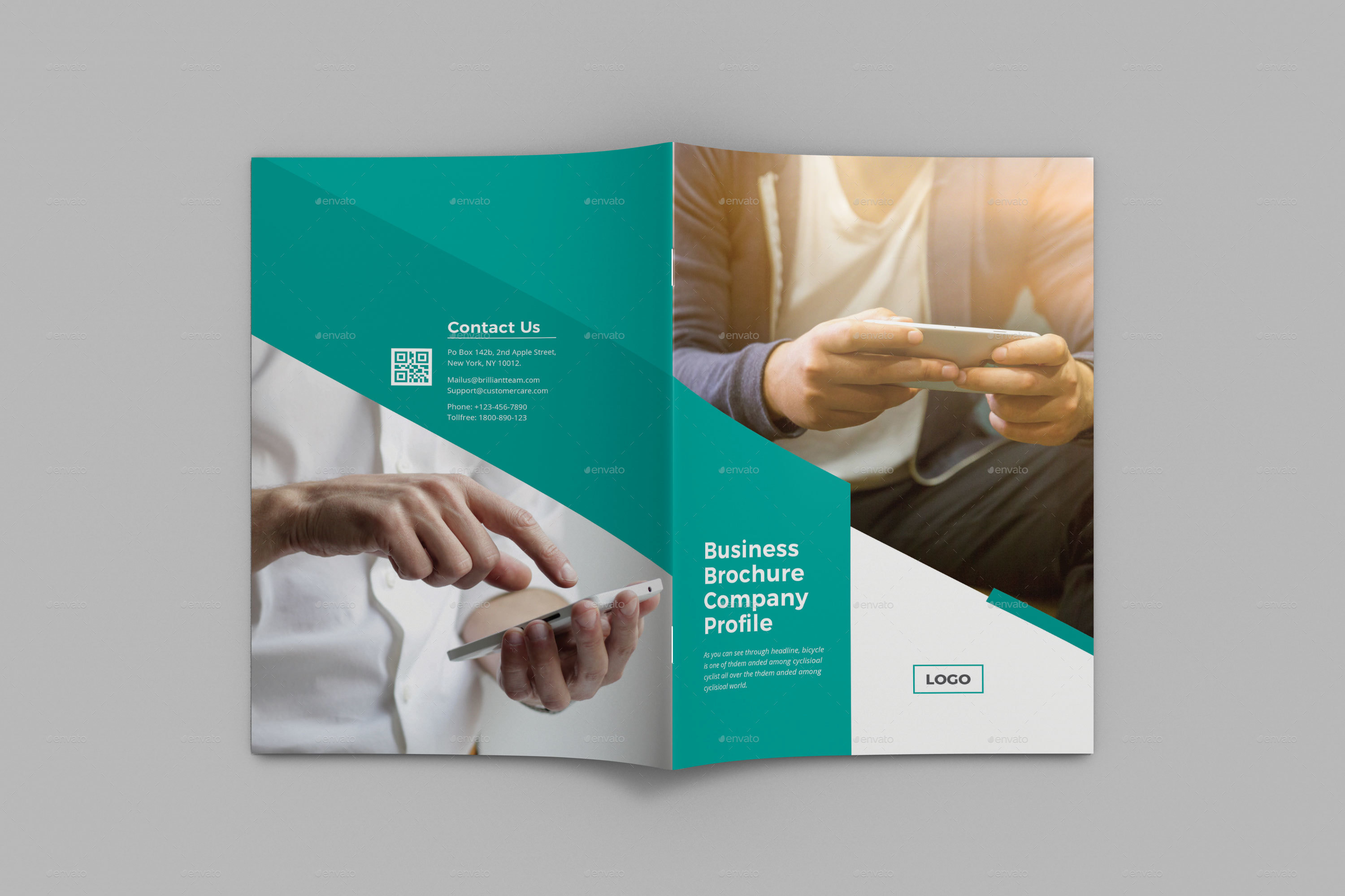 corporate bifold brochure by graphicstar10 graphicriver