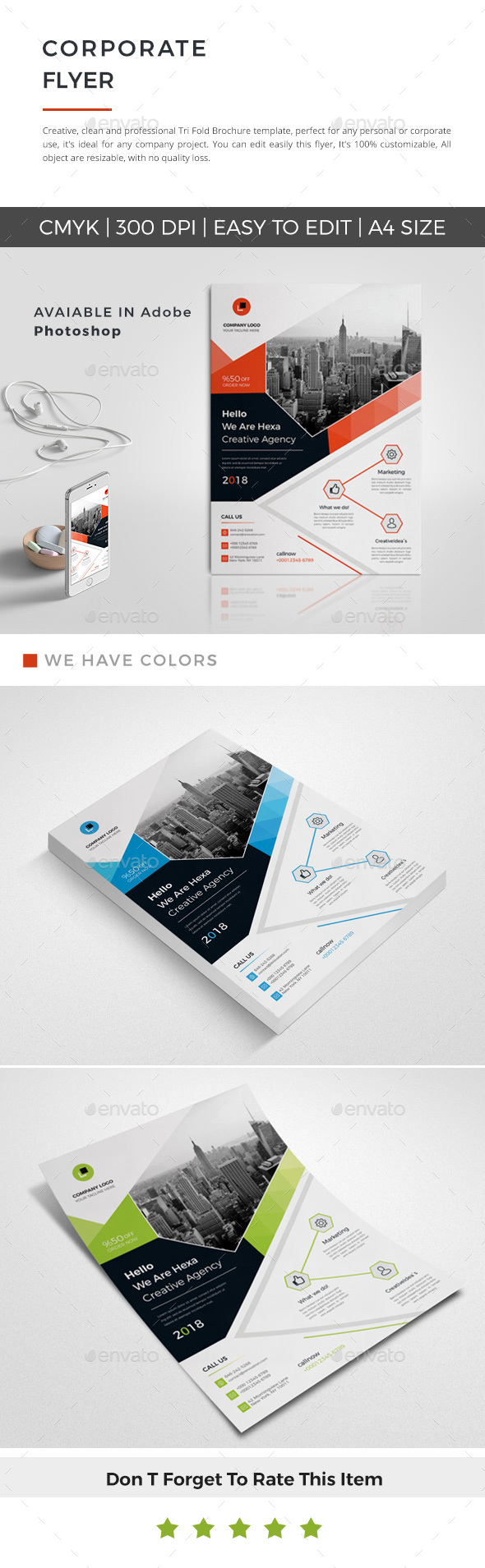 GraphicRiver Flyer 21155773
